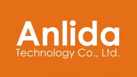 Anlida Logo-橘底-1